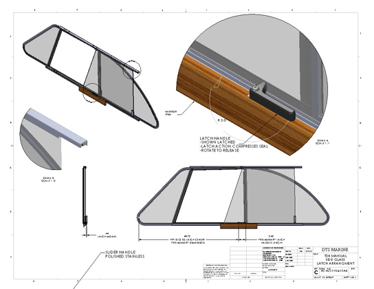 DTS Marine | HS-ASSY-T34-STAR-Drawing