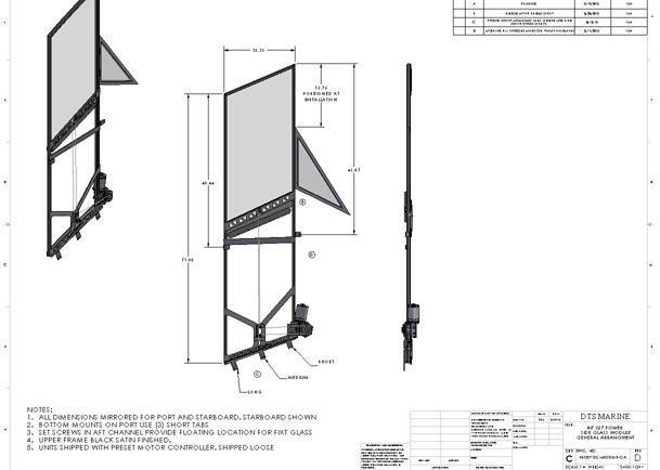DTS Marine | INT327-SG-MODULE-GA-Drawing