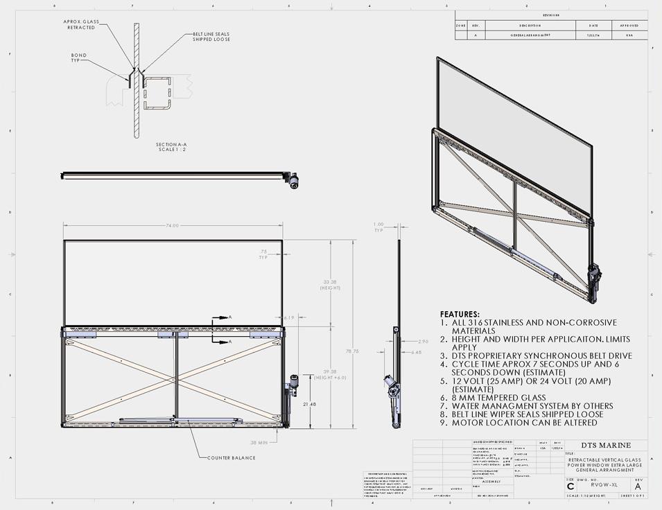 DTS marine | RVG-F&S-64-Drawing