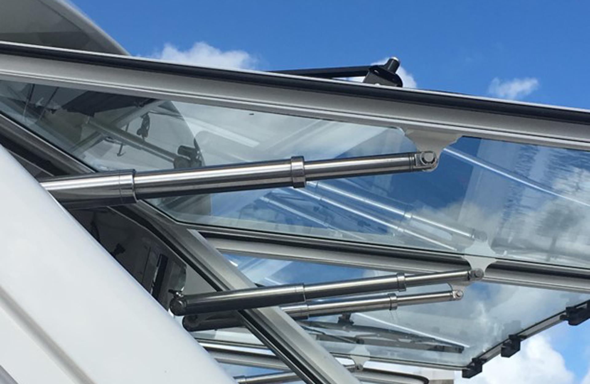 Antuator Venting Windows