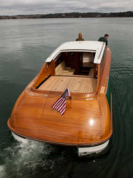 Hodgdon Tenders 8.5m Limo Open Air Sun Roof
