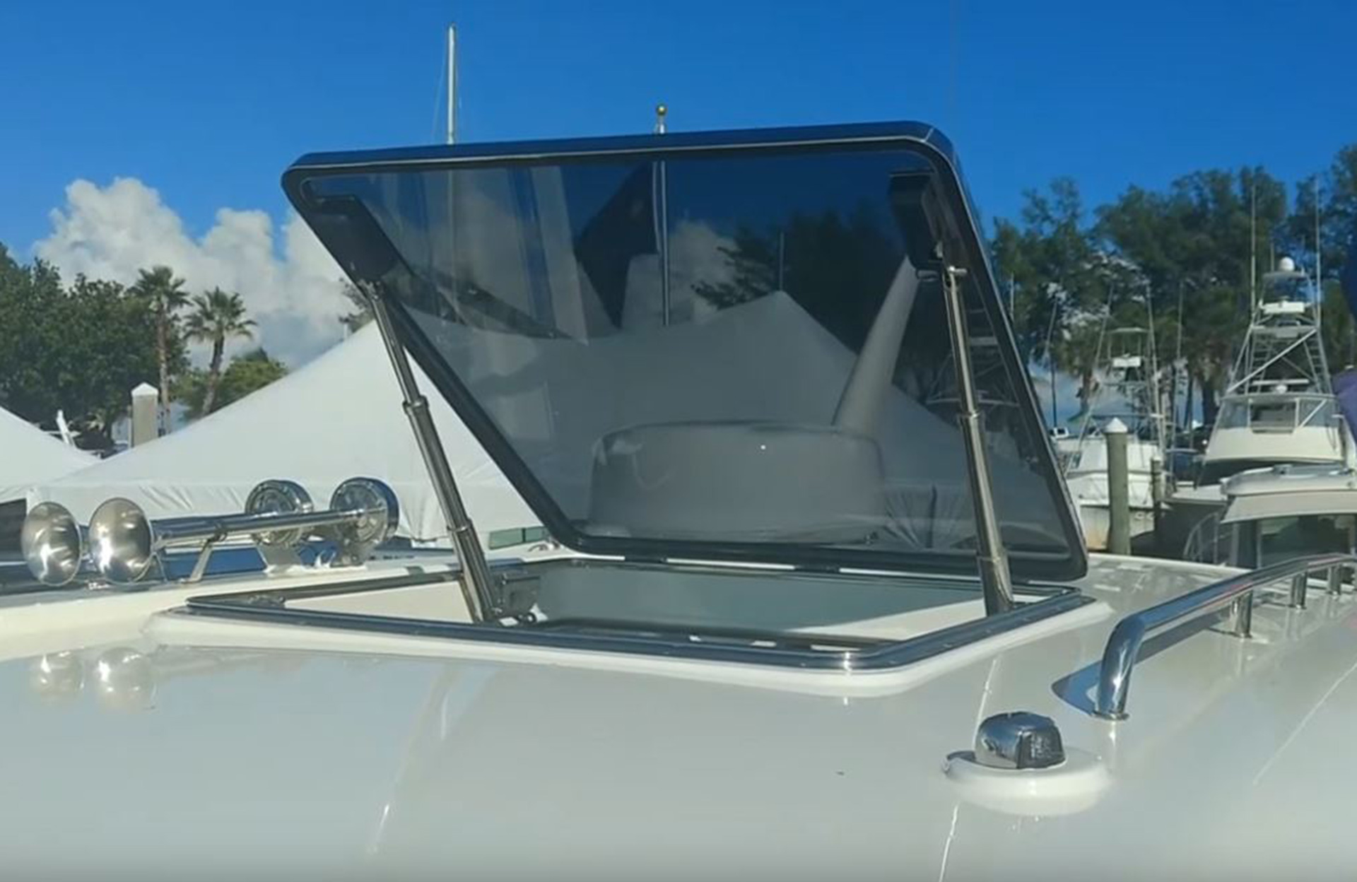 DTS Marine Powered Self Dogging Hatch Open Video Grab